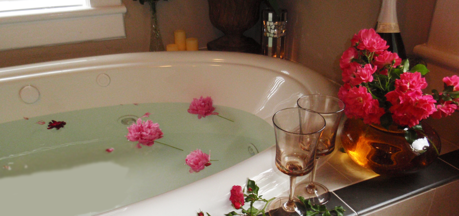 Sink into a relaxing bath to escape the world for a bit